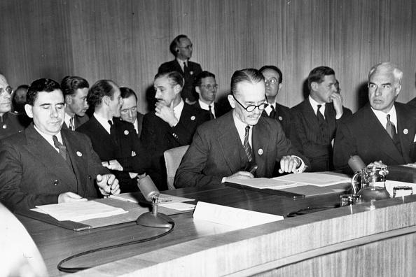 1940-1949「Three UN Delegates」:写真・画像(18)[壁紙.com]