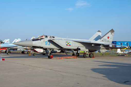 Russian Military「A modernized MiG-31BM of the Russian Air Force.」:スマホ壁紙(16)