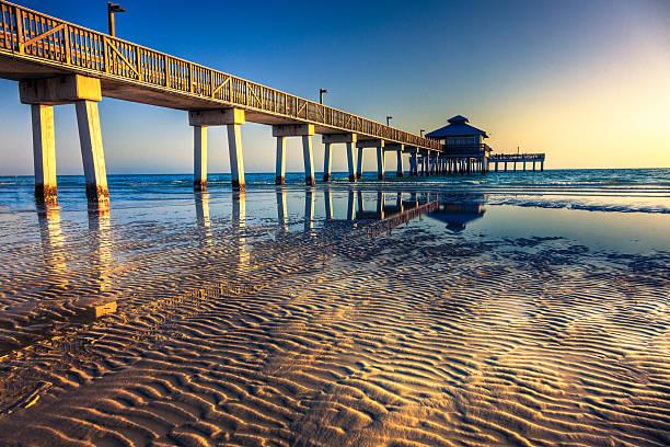 Fort Myers Beach Pier:スマホ壁紙(壁紙.com)