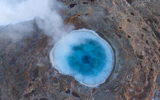 Hot Spring「Strokkur Geysir, Iceland」:スマホ壁紙(18)