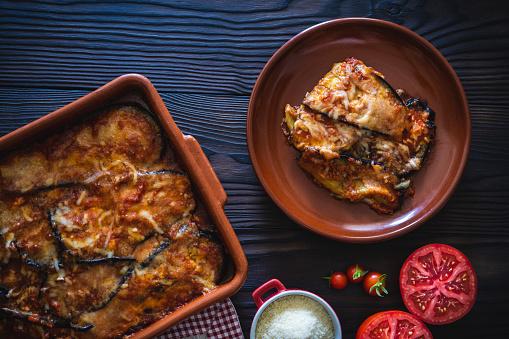 Stuffed「Eggplant parmesan recipe also Aubergine Parmigiana」:スマホ壁紙(11)