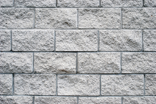 Brick Wall「White granite brick wall texture」:スマホ壁紙(0)
