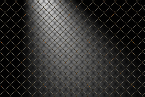 Chainlink Fence「Barbed wire」:スマホ壁紙(4)