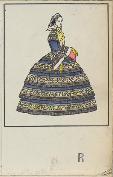Chromolithograph「Biedermeier Fashion」:写真・画像(10)[壁紙.com]