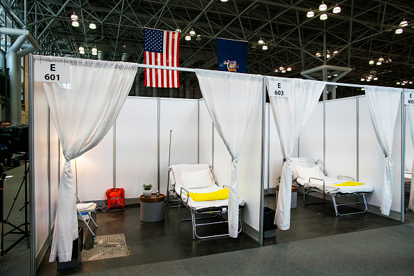 Hospital「NY Governor Andrew Cuomo Holds Daily Briefing At Javits Center」:写真・画像(17)[壁紙.com]
