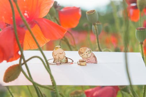 Paper Craft「A peaceful time」:スマホ壁紙(6)