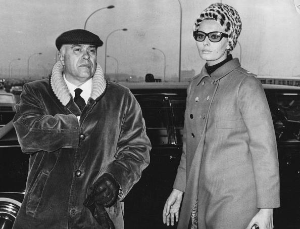 Husband「Sophia Loren And Carlo Ponti」:写真・画像(8)[壁紙.com]
