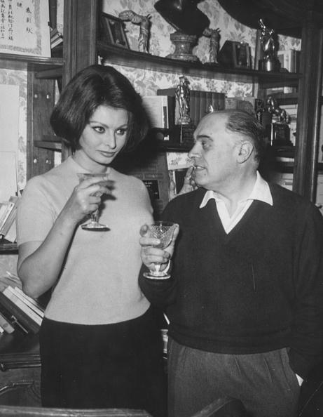 Film Industry「Sophia Loren And Carlo Ponti」:写真・画像(8)[壁紙.com]