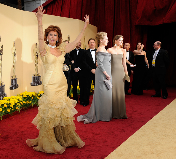 Ruched「81st Annual Academy Awards - Arrivals」:写真・画像(9)[壁紙.com]