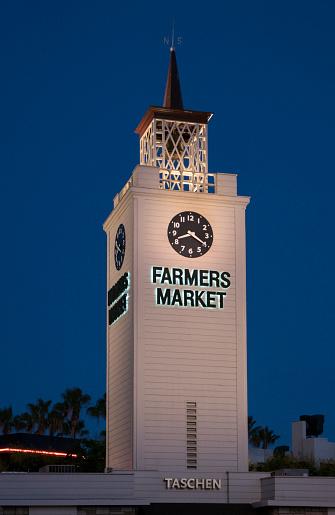 Clock「Farmers Market at Night」:スマホ壁紙(19)