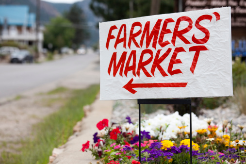 Agricultural Fair「Farmers Market Sign, Colorado」:スマホ壁紙(15)