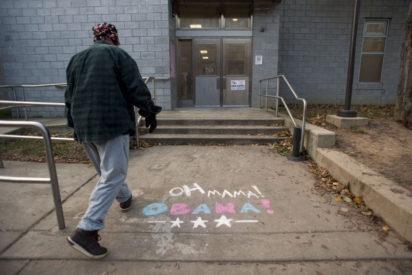 Jessica Kourkounis「U.S. Citizens Head To The Polls To Vote In Presidential Election」:写真・画像(12)[壁紙.com]