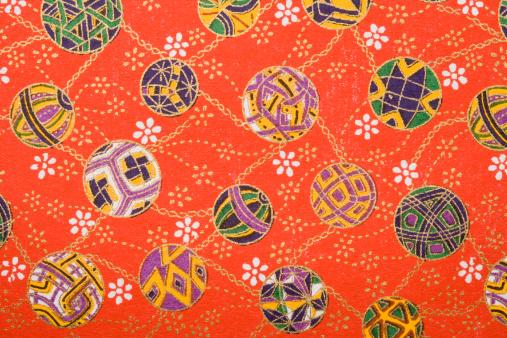 Floral Pattern「Origami paper, full frame」:スマホ壁紙(11)