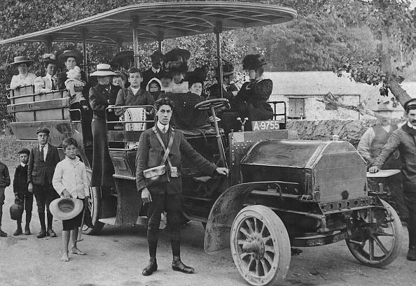 Edwardian Style「1905 Milnes - Daimler Charabanc For Gwr. Creator: Unknown.」:写真・画像(1)[壁紙.com]