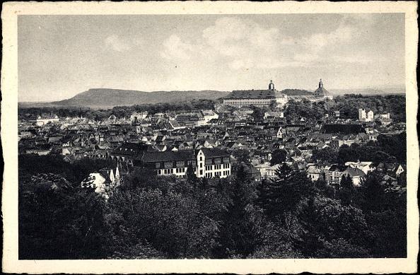 全景「Ak Gotha im Thüringer Becken, Blick vom Galberg auf den Ort und Schloss」:写真・画像(0)[壁紙.com]