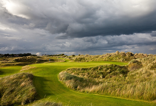 Coastline「Links Golf Course in Ireland」:スマホ壁紙(16)