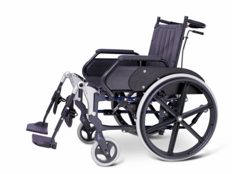 Accessibility for Persons with Disabilities「Hospital wheelchair on white background」:スマホ壁紙(14)