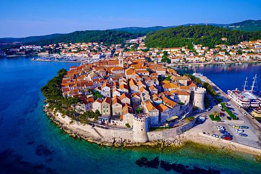 Adriatic Sea「Croatia, Dalmatia, Korcula」:スマホ壁紙(18)