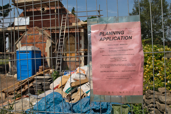 Focus On Foreground「Planning Application sign for Chapel Conversion, UK」:写真・画像(8)[壁紙.com]