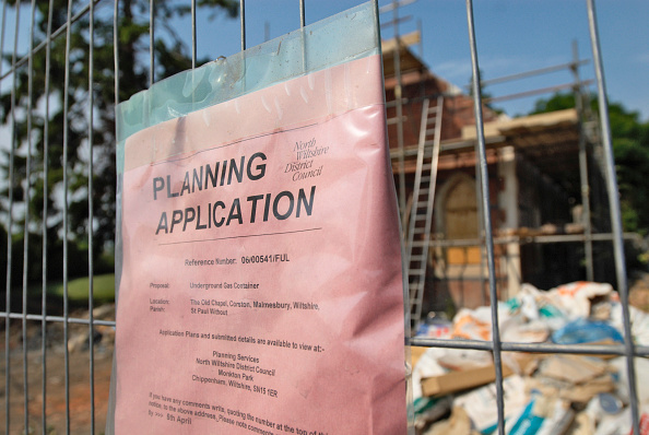 Plan - Document「Planning Application sign for Chapel Conversion, UK」:写真・画像(0)[壁紙.com]