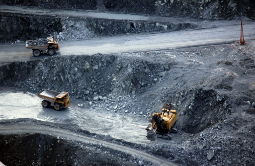Mining - Natural Resources「Open pit mining」:スマホ壁紙(6)