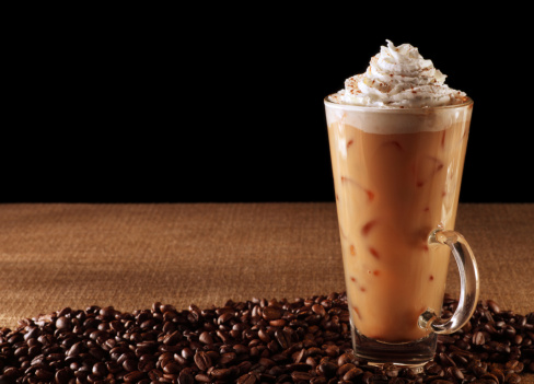 Hazelnut「Pumpkin Spice Latte on Black」:スマホ壁紙(19)