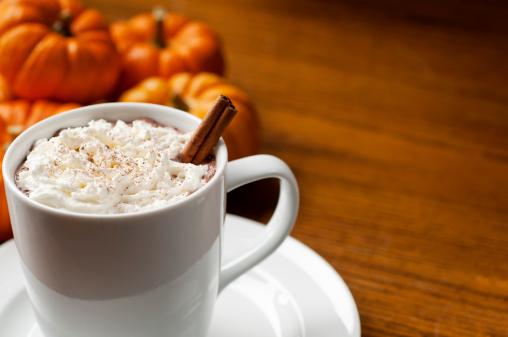 Cream - Dairy Product「Pumpkin Spice Latte」:スマホ壁紙(18)