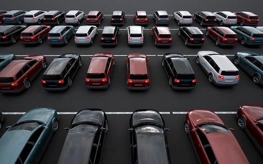Parking Lot「New Generic Cars」:スマホ壁紙(15)