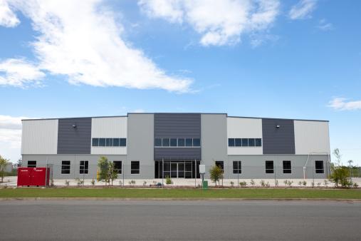 Shed「Industrial Warehouse Building」:スマホ壁紙(18)