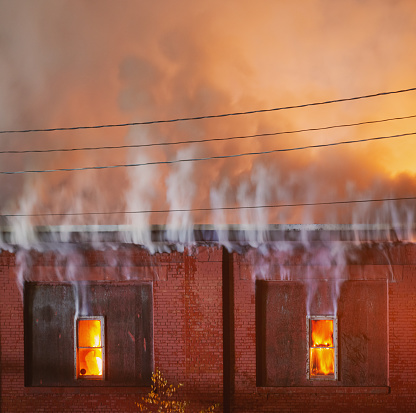 Inferno「Industrial Building Fire」:スマホ壁紙(5)