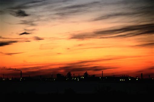 Factory「Industrial Sunset」:スマホ壁紙(8)