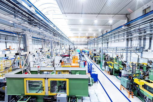 Plant「Industrial new factory & modern machines」:スマホ壁紙(4)