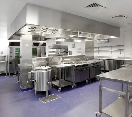 Industry「Industrial kitchen」:スマホ壁紙(9)