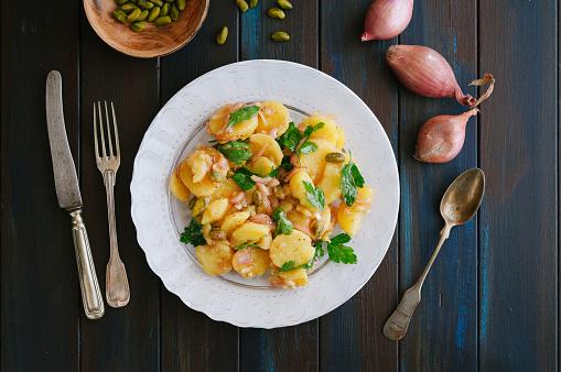 Vegetarian Food「Potato salad」:スマホ壁紙(7)