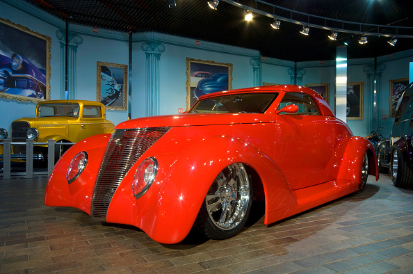 Beaulieu National Motor Museum「1937 Ford Roadster Customised car」:写真・画像(9)[壁紙.com]