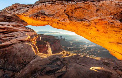Geology「Mesa Arch Sunrise」:スマホ壁紙(4)