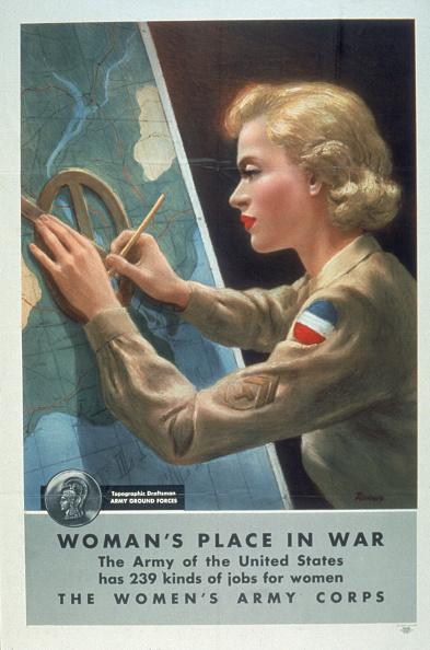 Women's Forces「'Woman's Place In War'」:写真・画像(5)[壁紙.com]
