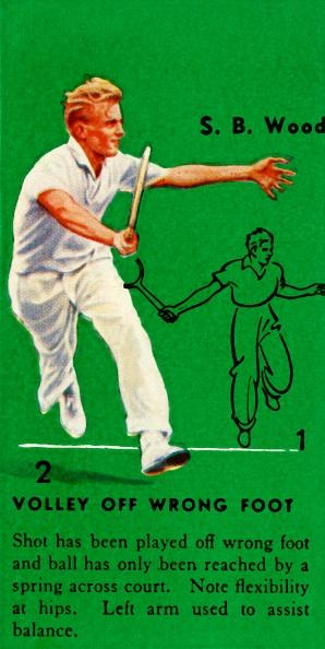男「S B Wood - Volley Off Wrong Foot」:写真・画像(9)[壁紙.com]