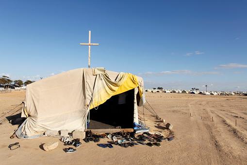 Refugee「Church in Choucha refugee camp」:スマホ壁紙(1)