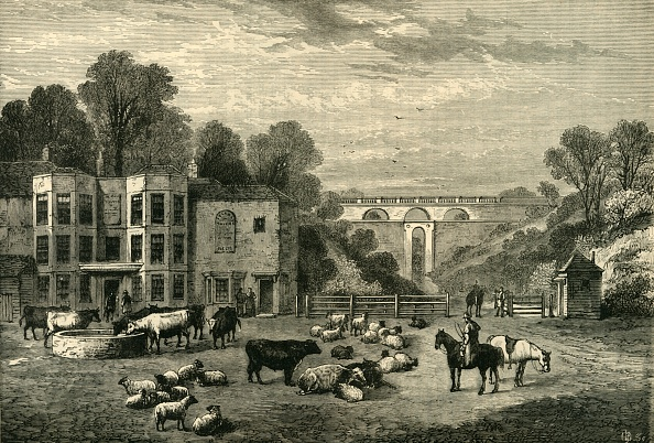 Agriculture「Highgate Archway Gate And Tavern In 1825」:写真・画像(12)[壁紙.com]
