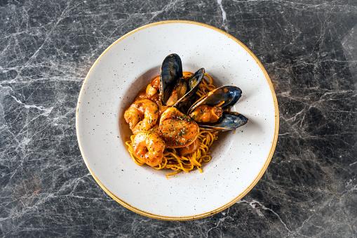 Tomato Sauce「Italian Seafood Pasta」:スマホ壁紙(17)