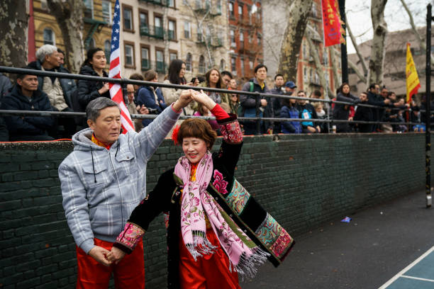New York's Chinatown Marks First Day Of The Lunar New Year:ニュース(壁紙.com)