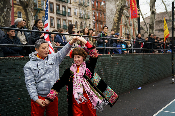 中国文化「New York's Chinatown Marks First Day Of The Lunar New Year」:写真・画像(12)[壁紙.com]