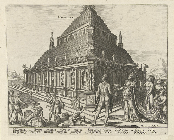 Mausoleum「The Mausoleum at Halicarnassus (from the series The Eighth Wonders of the World), 1572」:写真・画像(17)[壁紙.com]