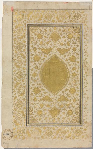 Herat「Quran Manuscript Folio (Recto); Illuminated Page」:写真・画像(4)[壁紙.com]