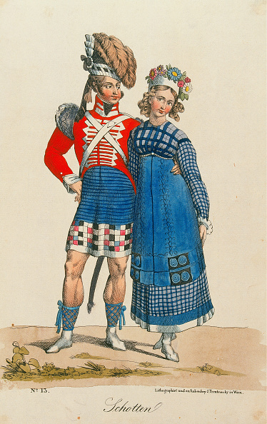 Chromolithograph「Trentsenskys Peoples Costumes」:写真・画像(14)[壁紙.com]