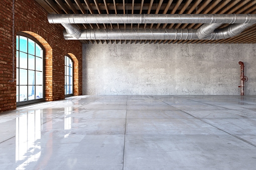 ������「Empty Large Warehouse」:スマホ壁紙(16)