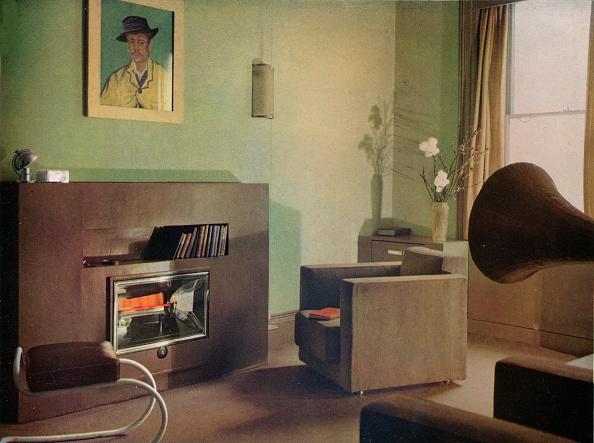 Living Room「Mrs Betty Fraser'S Flat At 28A, Upper Gloucester Place, London, 1932.」:写真・画像(11)[壁紙.com]