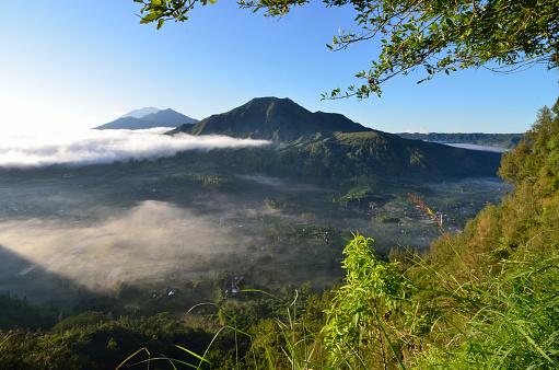 Mt Agung「Pinggan landscape, Bali, Indonesia」:スマホ壁紙(7)