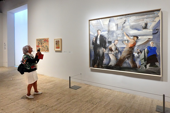 Painted Image「Red, Art and utopia in the land of Soviets」:写真・画像(19)[壁紙.com]